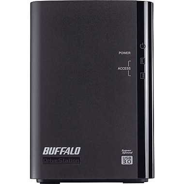 Buffalo DriveStation™ Duo HD-WL4TU3R1 Portable Hard Drive, 4 TB