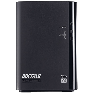 Buffalo DriveStation™ Duo HD-WL6TU3R1 Portable Hard Drive, 6 TB