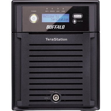 Buffalo TeraStation™ Quad WSS WS-QVL/R5 High Performance 4-Bay Network Attached Storage, 8 TB