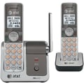 AT&T CL81201 Dect 6.0 Two-Handset Cordless Phone With Push-to-talk Between Handsets, 50 Name/Number