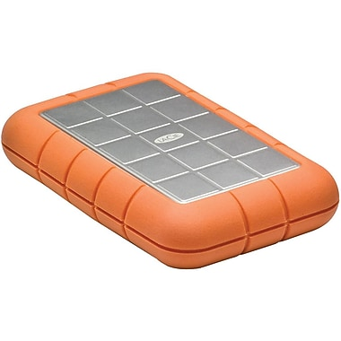 Lacie 301982 Rugged Triple External Hard Drive, 500 GB