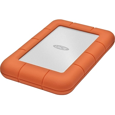 Lacie 301555 Rugged Mini External Hard Drive, 500 GB
