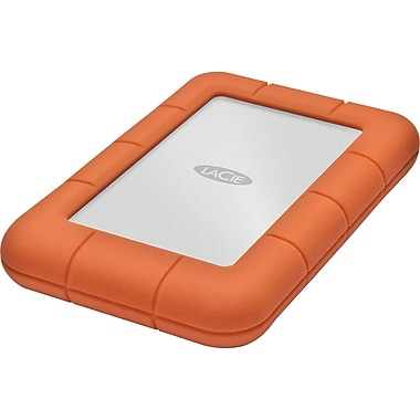 Lacie 301556 Rugged Mini External Hard Drive, 500 GB, 7200 RPM