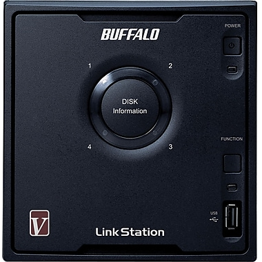 Buffalo LinkStation™ Pro Quad LS-QV12TL/R5 4-Bay Network Attached Storage, 12 TB