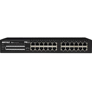 Buffalo BS-G2116U Gigabit Switch, 24 Ports
