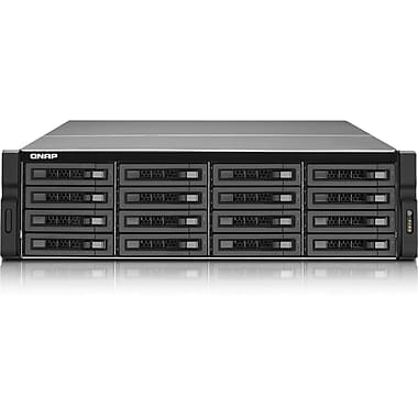 QNAP® TS-EC1679U-RP 16-Bay Network Attached Storage Server W/ECC Memory, 64 TB