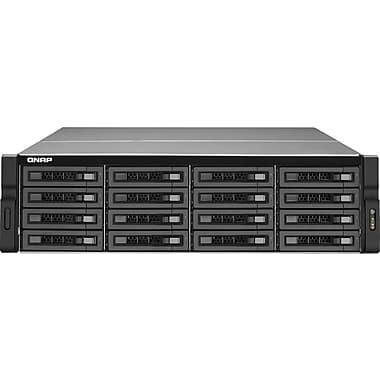 QNAP® TS-1679U-RP Ultra-High Performance 16-Bay Network Attached Storage Server, 64 TB