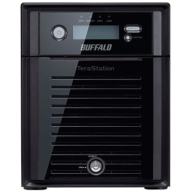 Buffalo TeraStation™ TS5400D0404 High Performance 4-Bay Network Attached Storage, 4 TB