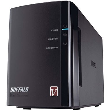 Buffalo LinkStation™ Pro Duo LS-WVL/E 2 Drive 2-Bay Network Attached Storage