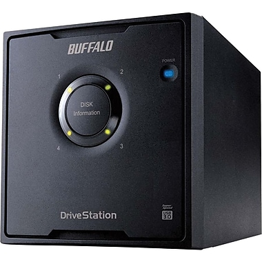 Buffalo DriveStation™ Quad HD-QL16TU3R5 Portable External Hard Drive, 16 TB