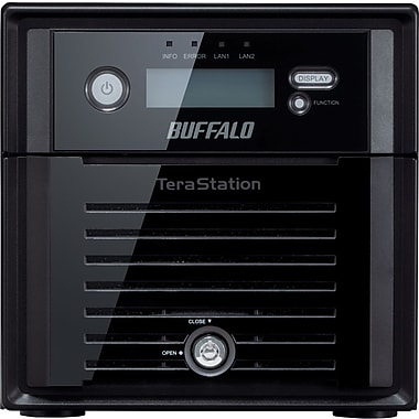 Buffalo TeraStation™ TS5200D0802 High Performance 2-Bay Network Attached Storage, 8 TB