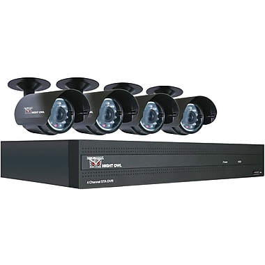 Night Owl STA-44 4 Channel H.264 Full D1 Digital Video Recorder