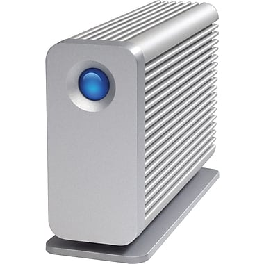Lacie Thunderbolt™ 9000358 Little Big Disk Portable Hard Drive, 2 TB