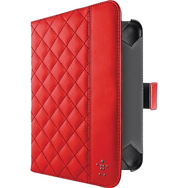 Belkin Quilted Cover w/ Stand for Kindle Fire HD 7in., Red