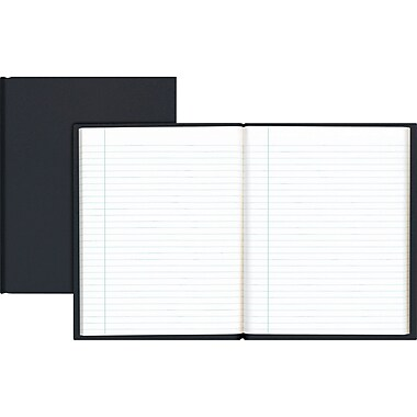 Staples® Hardcover Notebooks, 9-1/4