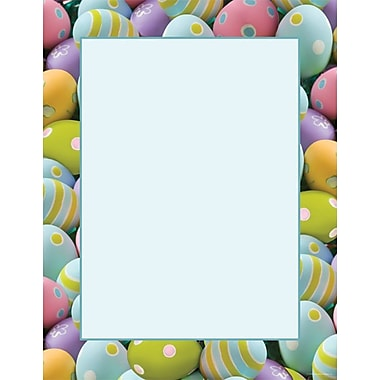Great Papers® Painted Easter Eggs Letterhead, 100/Pack