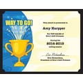 Great Papers® Trophy 3-D Certificate Kit