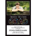 2013 Confetti Grad Photo Invitations and Envelopes, 25 count