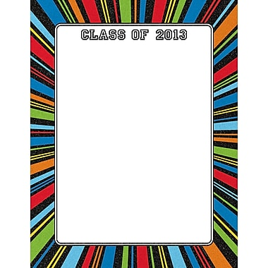 2013 Grad Color Burst Letterhead