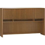 Bush Northfield 60 Credenza Hutch, Dakota Oak