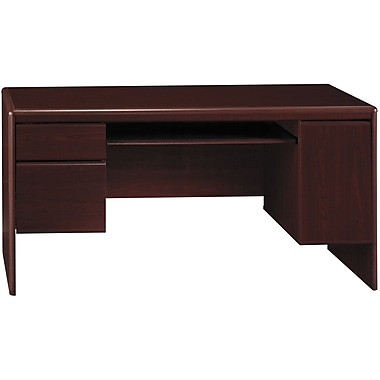 Bush Northfield 60in. Credenza, Harvest Cherry