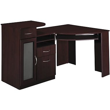 Bush vantage corner desk staples - Staples corner storage ...