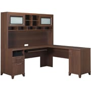 Bush Furniture Achieve Hutch, Sweet Cherry (PR67611)