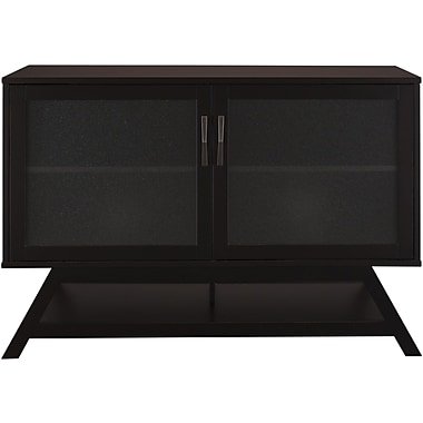 Bush Canted TV Stand, Warm Molasses