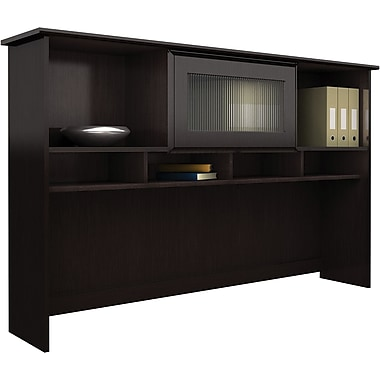 Bush Cabot 60in. Hutch, Espresso Oak