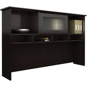 Bush Furniture Cabot Collection 60W Hutch, Espresso Oak (WC31831-03)