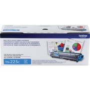 Brother TN-225C Cyan Toner Cartridge, High Yield (TN225C)