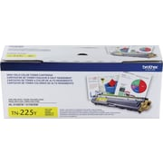 Brother TN-225Y Yellow Toner Cartridge, High Yield