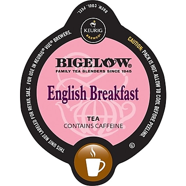 Keurig Vue Pack Bigelow English Breakfast Tea, 16/Pack