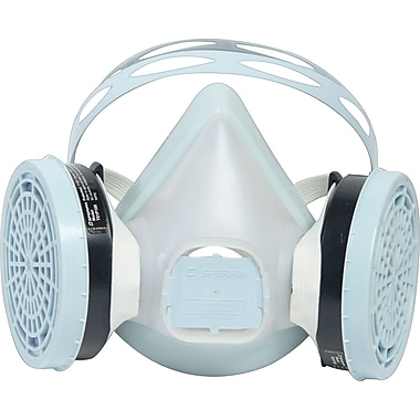 Sperian Freedom Elastomeric Disposable Half Mask Respirators, Large Size