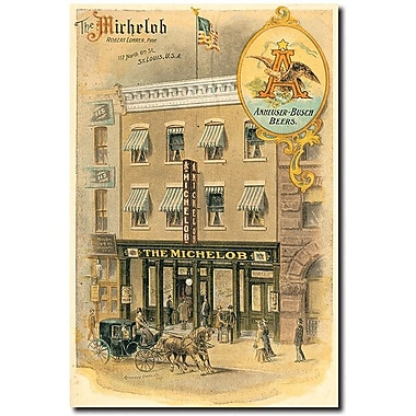 Trademark Global in.The Michelobin. Canvas Art, 16in. x 24in.