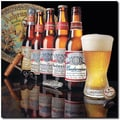 Trademark Global in.Budweiser - 5 Generations of Bottlesin. Canvas Arts