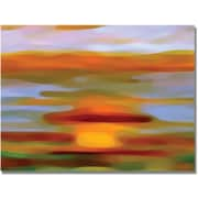 "Trademark Global Amy Vangsgard ""Colorful Reflections Horizontal"" Canvas Art, 30"" x 47"""