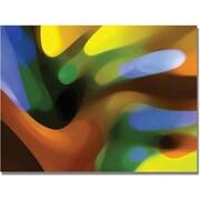 """Trademark Global Amy Vangsgard """"Gold Tree Light"""" Canvas Art, 35"""" x 47"""""""