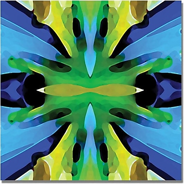 Trademark Global Amy Vangsgard in.Paradise Blue and Greenin. Canvas Art, 35in. x 35in.