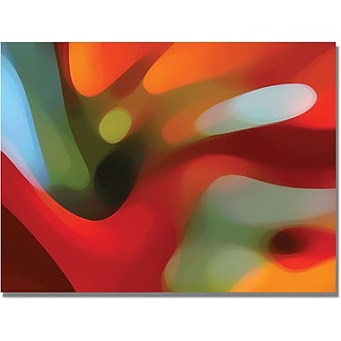 Trademark Global Amy Vangsgard in.Red Tree Lightin. Canvas Arts
