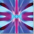Trademark Global Amy Vangsgard in.Tree Light Symmetry Blue and Purplein. Canvas Art, 18in. x 18in.