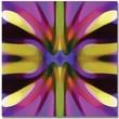 Trademark Global Amy Vangsgard in.Tree Light Symmetry Magenta and Greenin. Canvas Art, 35in. x 35in.