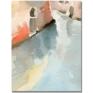 Trademark Global Beverly Brown in.Canal Reflections Venice Italyin. Canvas Arts