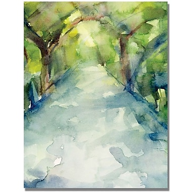 Trademark Global Beverly Brown in.Conservatory Gardens Central Parkin. Canvas Arts