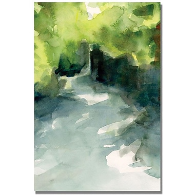Trademark Global Beverly Brown in.Central Park Dappled Lightin. Canvas Art, 24in. x 16in.