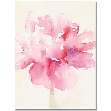 Trademark Global Beverly Brown in.Pink Peonyin. Canvas Arts