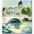 Trademark Global Beverly Brown in.Pont de Change Parisin. Canvas Art, 18in. x 18in.