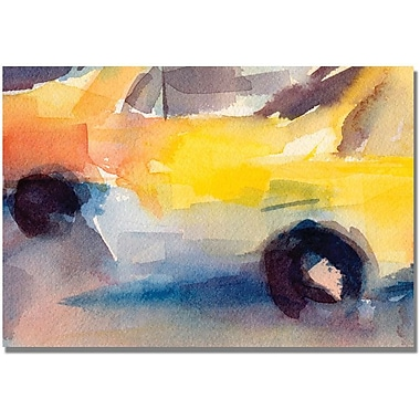 Trademark Global Beverly Brown in.Taxi New Yorkin. Canvas Art, 30in. x 47in.