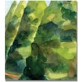 Trademark Global Beverly Brown in.Topiary Parc Saint Cloudin. Canvas Arts