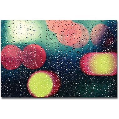 Trademark Global Beata Czyzowska Young in.Rain and the Cityin. Canvas Art, 30in. x 47in.